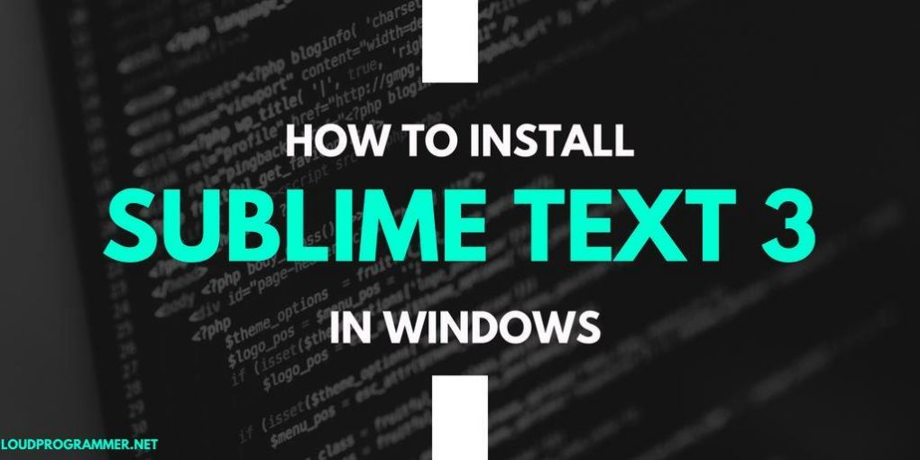 How-to-Install-Sublime-Text-3-in-Windows